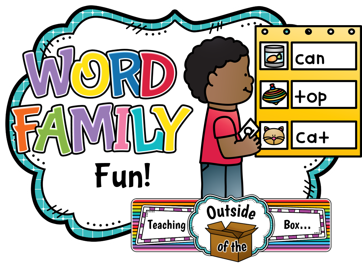 Outside house clipart png free Teaching Outside of the Box...: Word Family Fun! png free