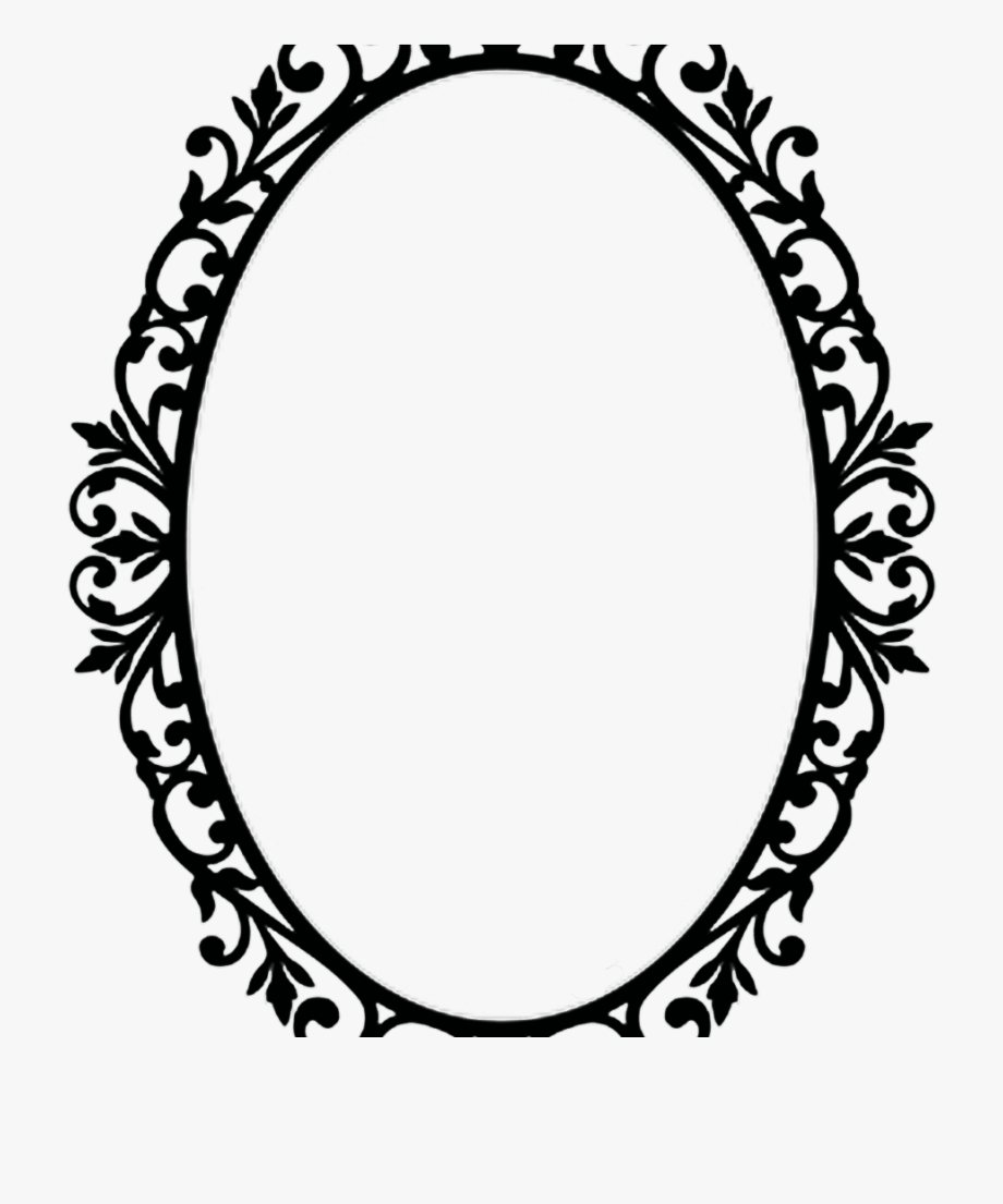 Oval photo frame clipart clip library Victorian Frame Png - Ornate Oval Frame Png #1027713 - Free ... clip library
