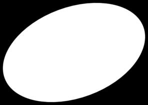 Ovalo clipart clip art black and white Circle White Clip Art at Clker.com - vector clip art online ... clip art black and white