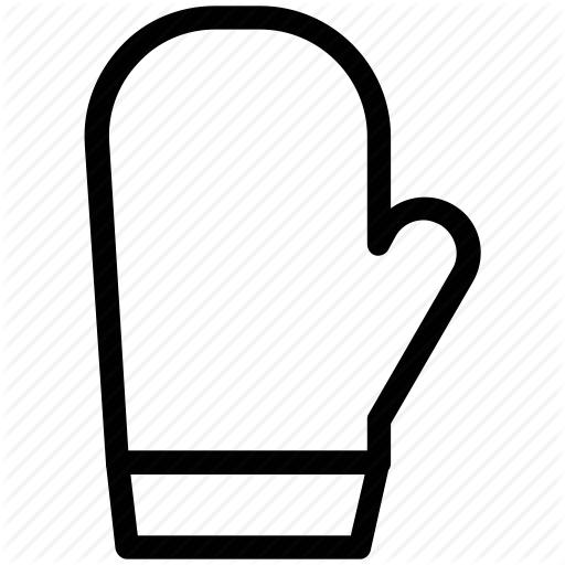 Oven mitt clipart png black and white clip library download Download Free png Baking glove, gloves, mitten, oven gloves ... clip library download
