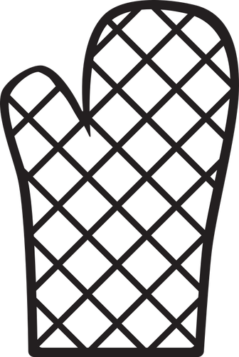 Oven mitt clipart png black and white clip black and white library Oven mitt icon | Public domain vectors clip black and white library