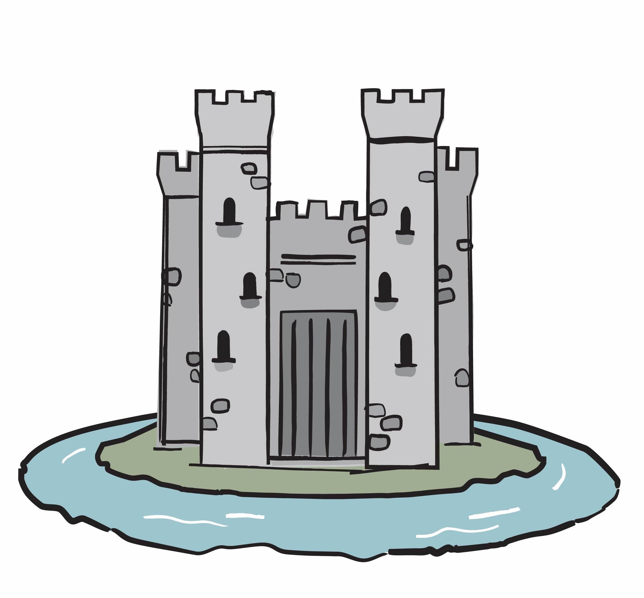 Over the moat clipart vector freeuse The Agency Moat: Sustainable Competitive Advantage vector freeuse