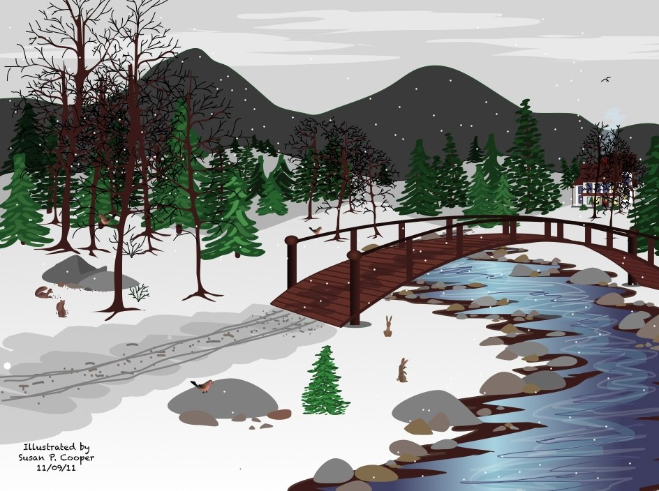 Over the river and throught hte woods clipart banner royalty free download Over the river and through the woods clipart » Clipart Portal banner royalty free download