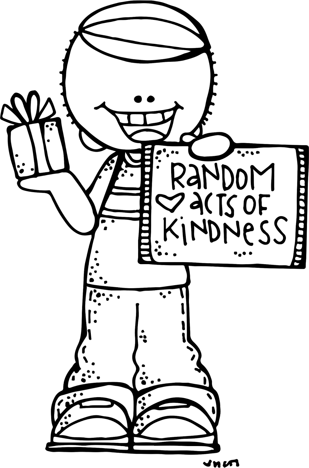 Overdue library book clipart black and white jpg library download One little tiny Act of Kindness can change a person's whole day ... jpg library download