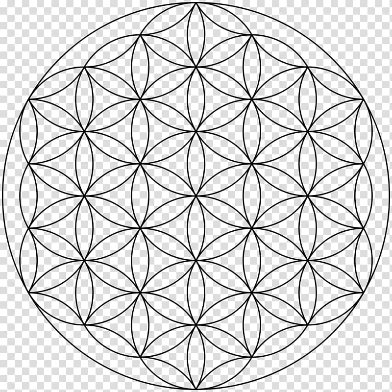 Overlapping circles grid clipart clipart Overlapping circles grid Sacred geometry Symbol, compas ... clipart