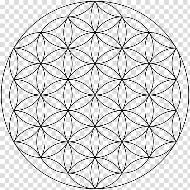 Overlapping circles grid clipart image royalty free download Overlapping circles grid Sacred geometry Vesica piscis ... image royalty free download