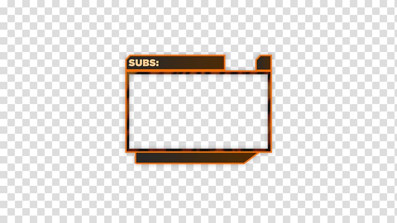 Overlay twitch clipart svg black and white library Subs: template, Webcam Camera Twitch Streaming media Open ... svg black and white library