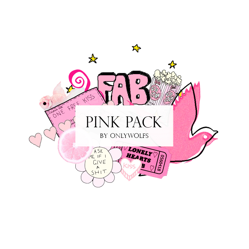 Overlays tumblr clipart pack svg Pink Pack / Pack Rosa [Pack #7] by OnlyWolfs on DeviantArt svg