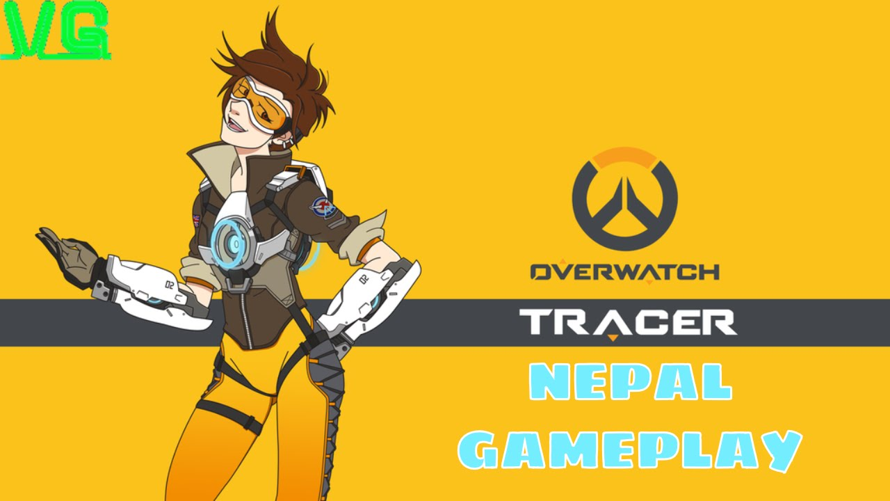 Overwatch 1080p clipart svg transparent download Overwatch Control (Nepal) Tracer Gameplay (PS4 1080p 60fps) - YouTube svg transparent download