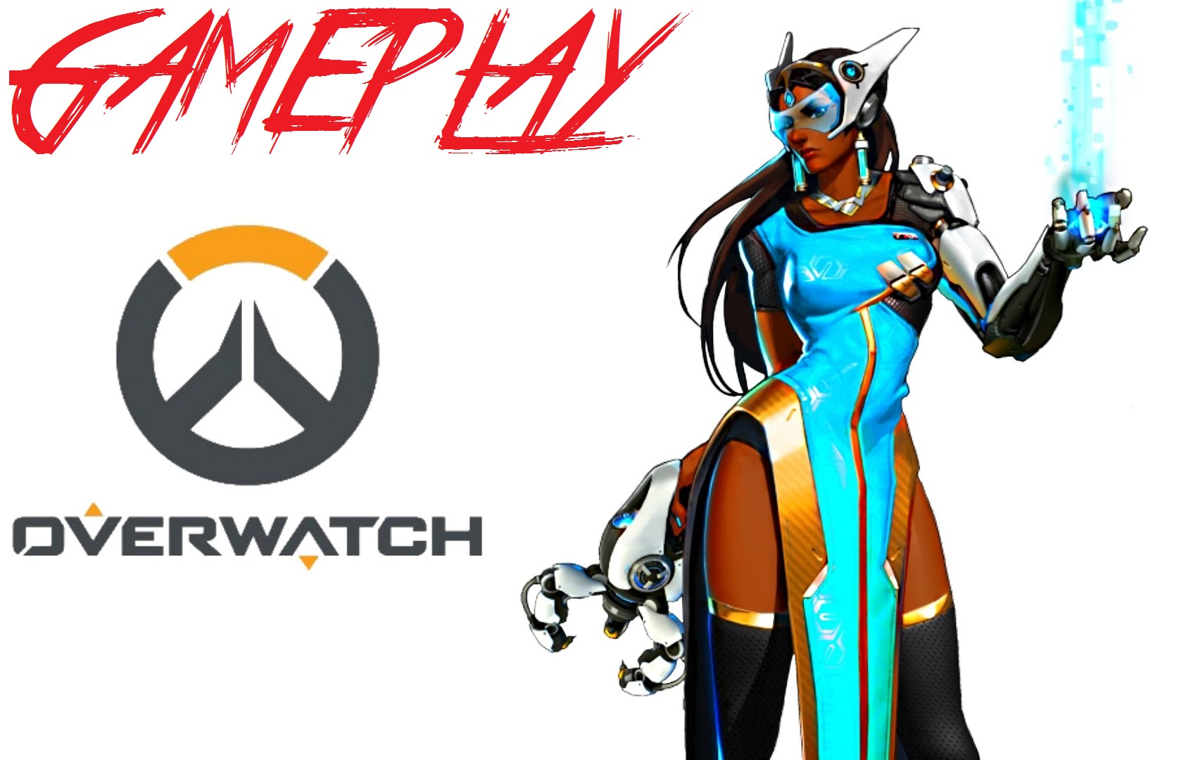 Overwatch 1080p clipart svg library download OVERWATCH - JOGANDO COM A - SIMMETRA - 1080P - YouTube svg library download