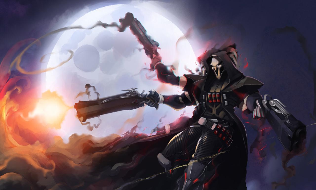 Overwatch 1080p clipart vector 108 Reaper (Overwatch) HD Wallpapers | Backgrounds - Wallpaper Abyss vector