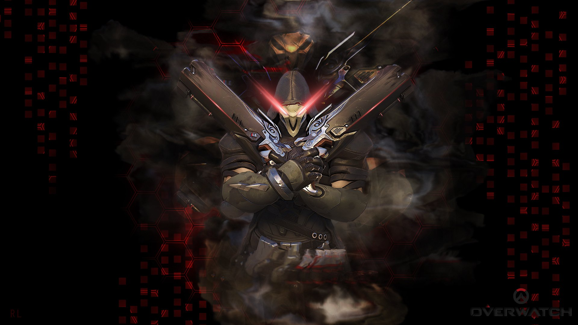 Overwatch 1080p clipart picture 108 Reaper (Overwatch) HD Wallpapers | Backgrounds - Wallpaper Abyss picture