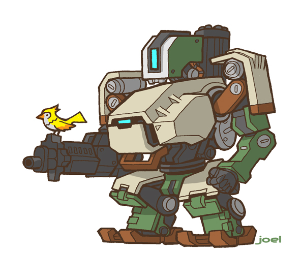 Overwatch bastion clipart image transparent joelcarroll.com » Blog Archive » Bastion, from Overwatch image transparent