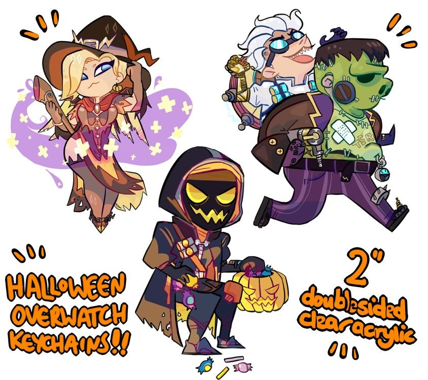 Overwatch clipart 16x16 free library Overwatch halloween clipart - ClipartFest free library