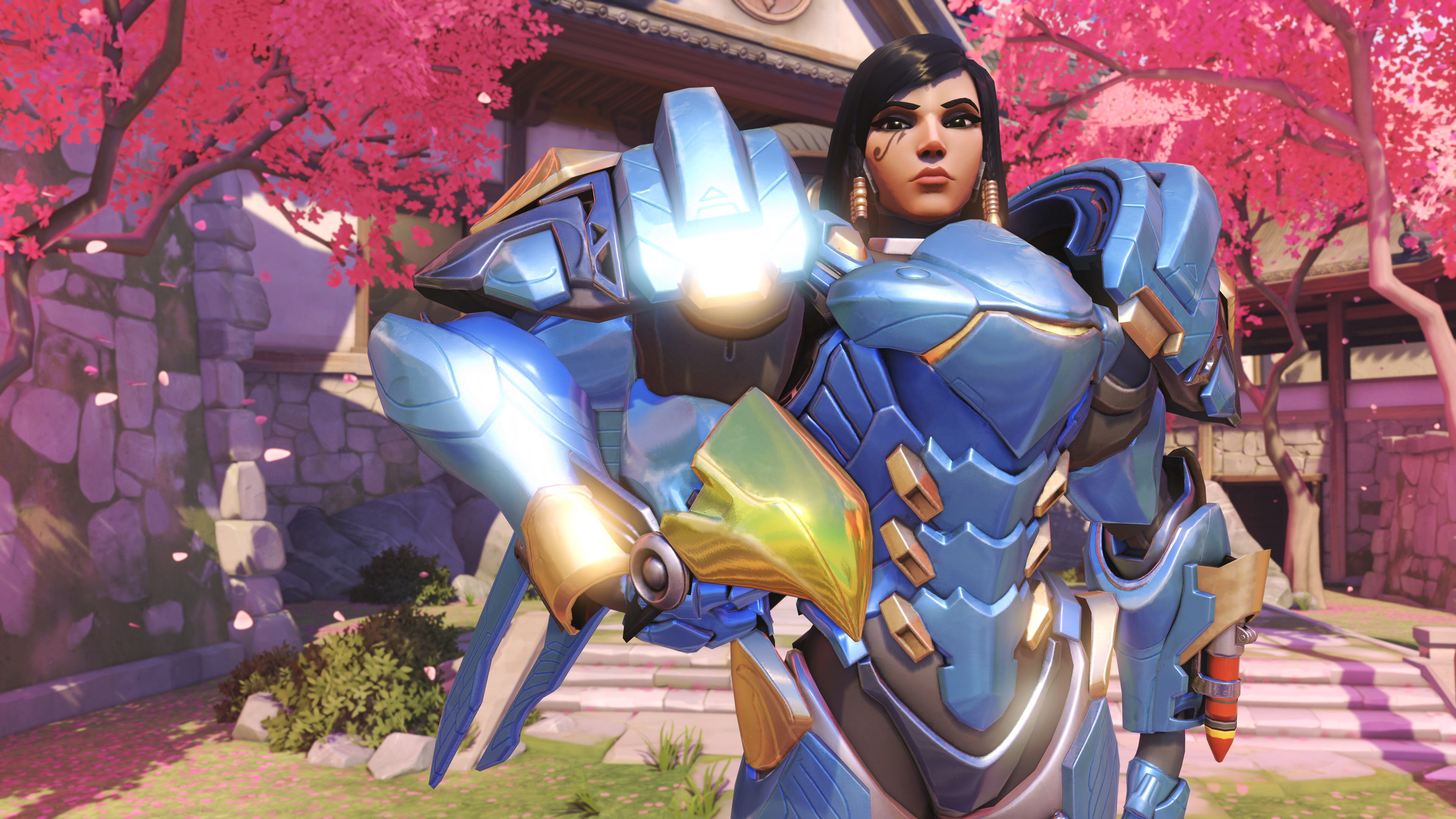 Overwatch clipart 4k image library DeviantArt: More Like Overwatch Pharah 4K Pic 1 by user619 image library