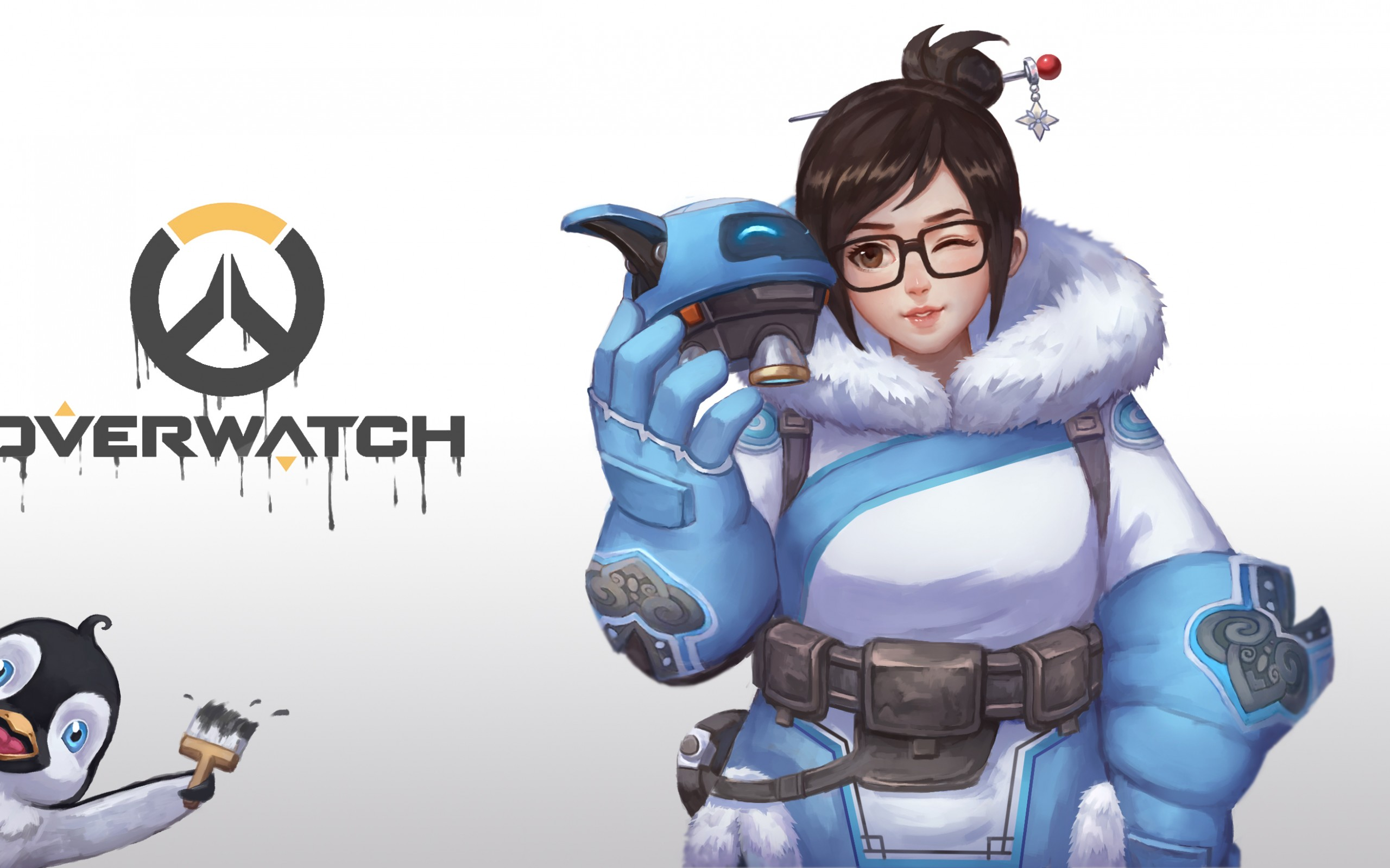 Overwatch clipart 4k royalty free Wallpaper Mei, Overwatch, HD, Games, #3740 royalty free
