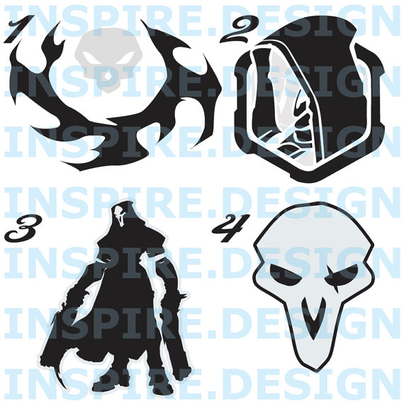 Overwatch clipart reaper clip art royalty free library Overwatch clipart reaper - ClipartFest clip art royalty free library