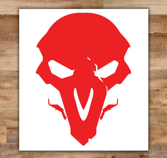 Overwatch clipart reaper svg freeuse library Overwatch Reaper Decal Reaper Overwatch Decal Death Video svg freeuse library