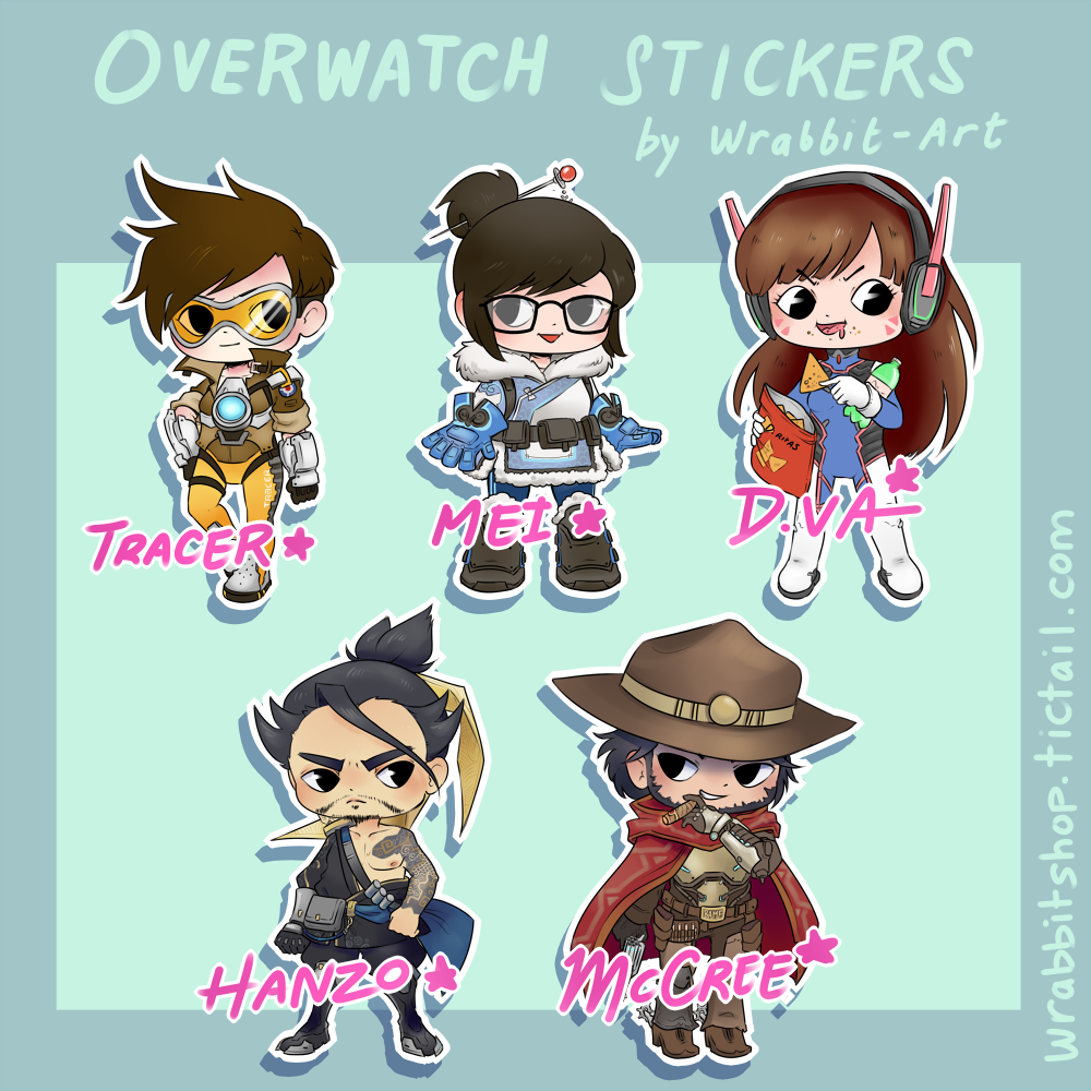 Overwatch clipart unlock free library Wrabbit is creating Art Adventures   Patreon free library