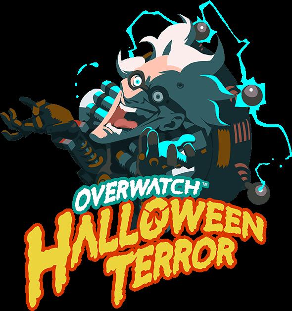 Overwatch halloween clipart clip art ow-halloween-terror-logo-en | Overwatch | Pinterest | Overwatch ... clip art