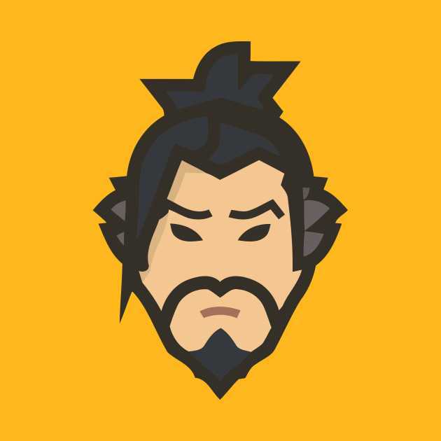 Overwatch hanzo clipart vector royalty free stock Overwatch - Hanzo - Hanzo - T-Shirt | TeePublic vector royalty free stock