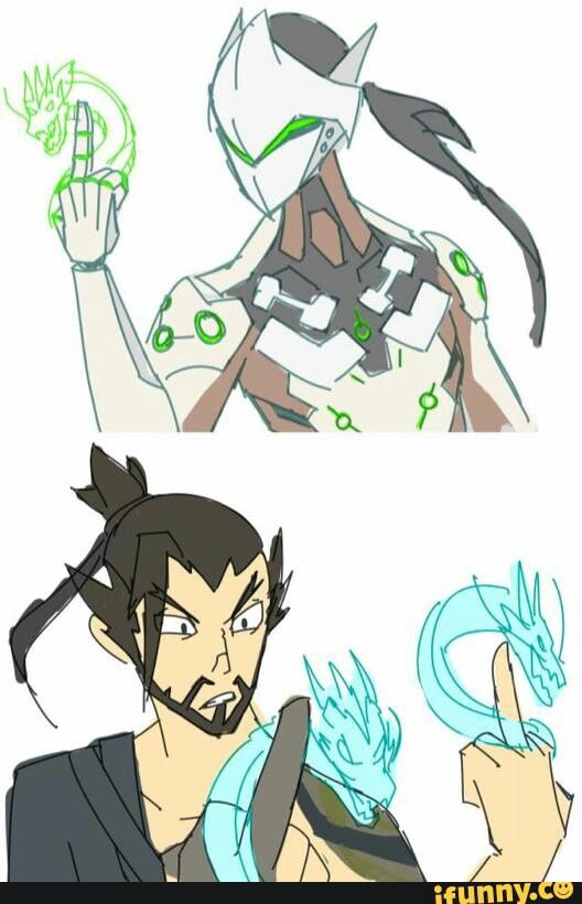 Overwatch hanzo clipart jpg royalty free library 17 Best images about Overwatch -- Genji x Hanzo on Pinterest | Ios ... jpg royalty free library
