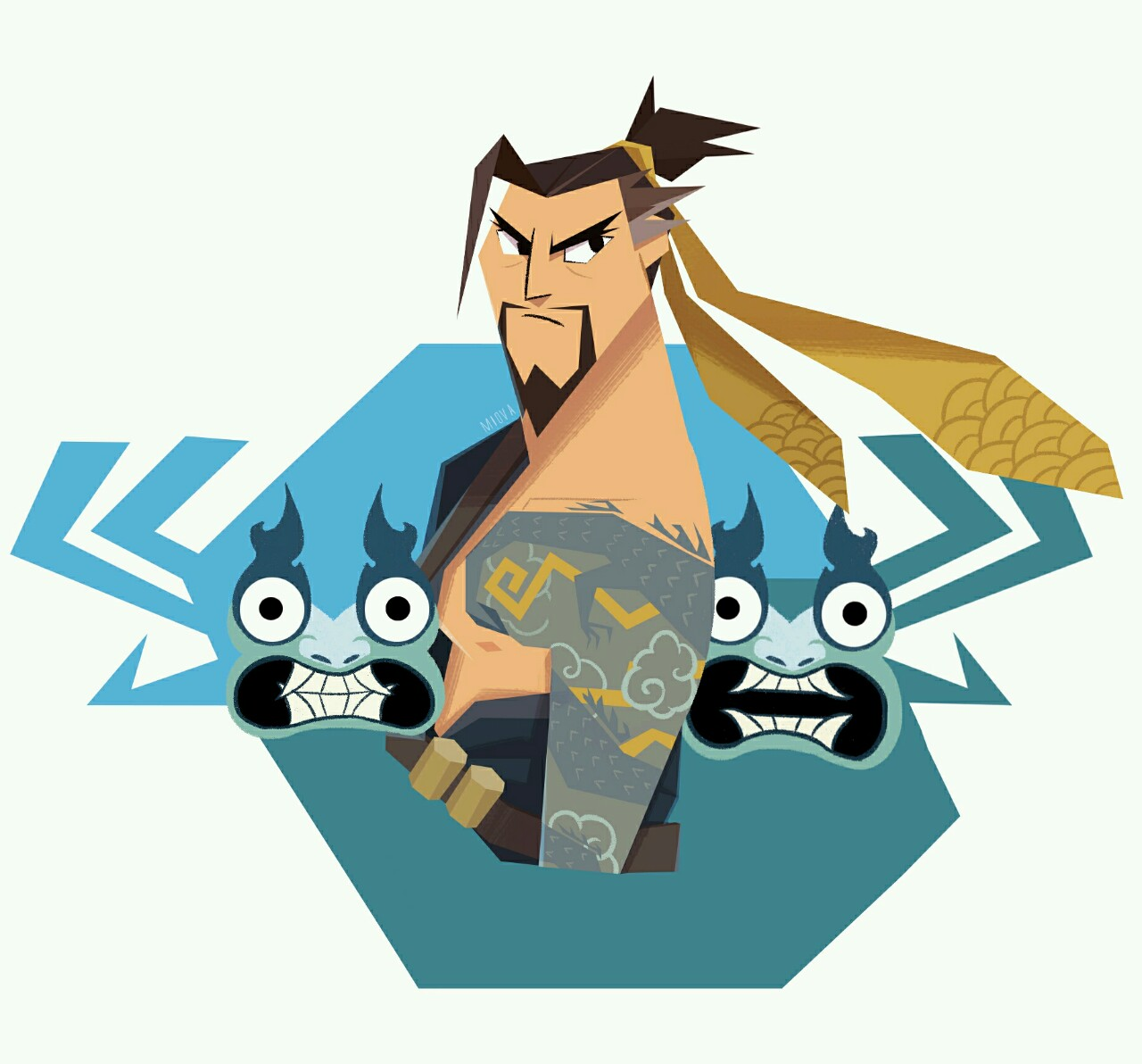 Overwatch hanzo clipart clipart download Samurai Hanzo | Overwatch | Know Your Meme clipart download
