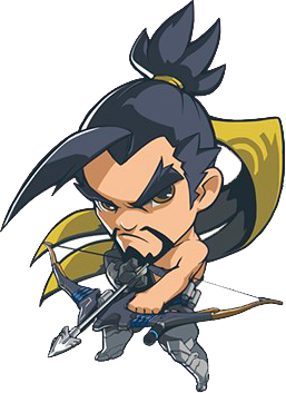 Overwatch hanzo clipart clipart transparent library Overwatch Hanzo OP Guide | Counter pick | Tiers list | clipart transparent library
