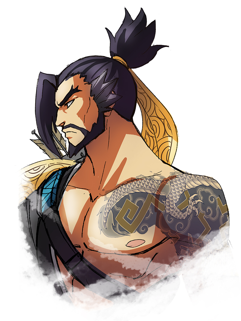 Overwatch hanzo clipart picture free Hanzo - Overwatch by LadyGT on DeviantArt picture free