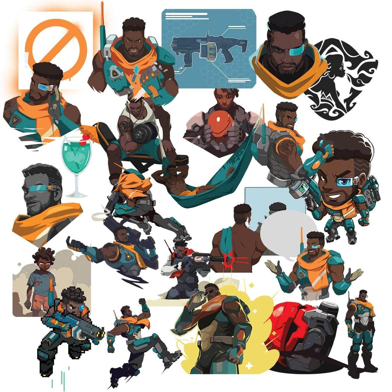 Overwatch hero cliparts banner download Overwatch Baptiste Clipart | Overwatch Clipart in 2019 ... banner download