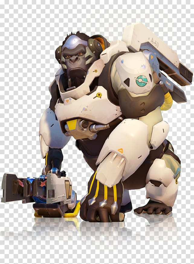Overwatch hero cliparts image freeuse library Overwatch Heroes of the Storm Winston Video game, grenade ... image freeuse library