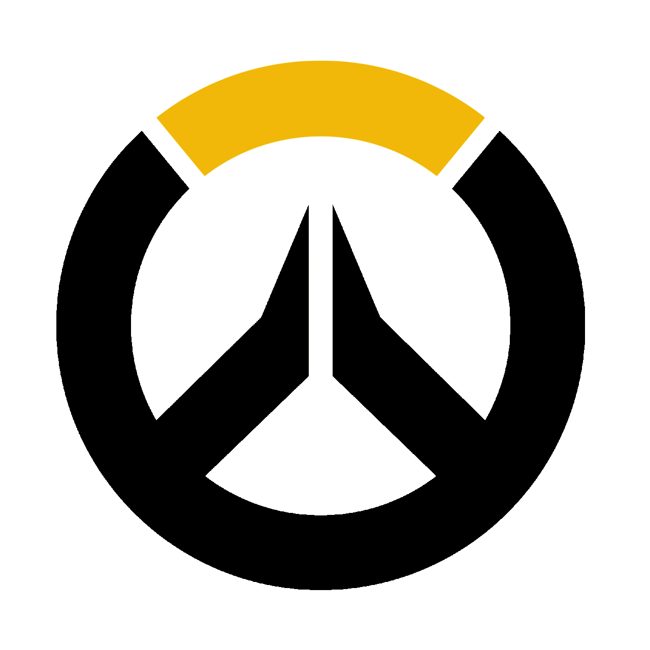 Overwatch icon clipart image black and white Overwatch Icon Png #271884 - Free Icons Library image black and white