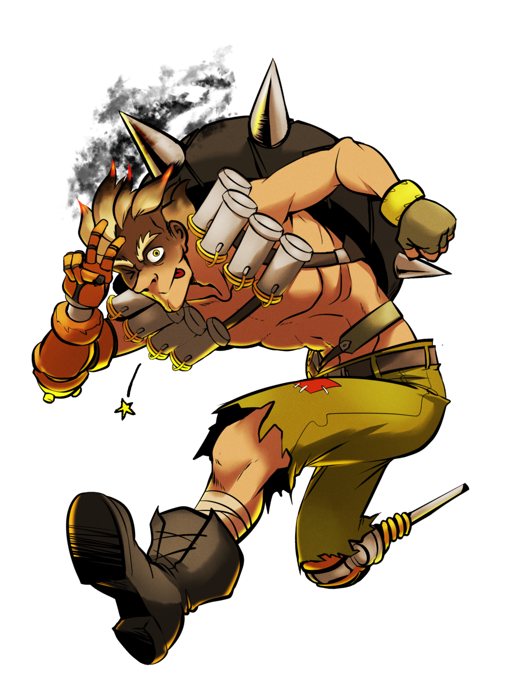 Overwatch junkrat clipart vector free library Overwatch mostly junkrat favourites by DustyDragonZ on DeviantArt vector free library