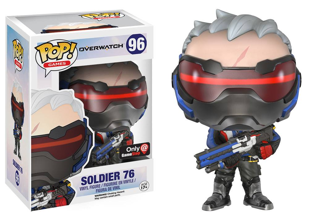 Overwatch lightning bolt clipart svg library stock Funko Pop! Games Soldier 76 Overwatch (Gamestop Exclusive) | toys ... svg library stock