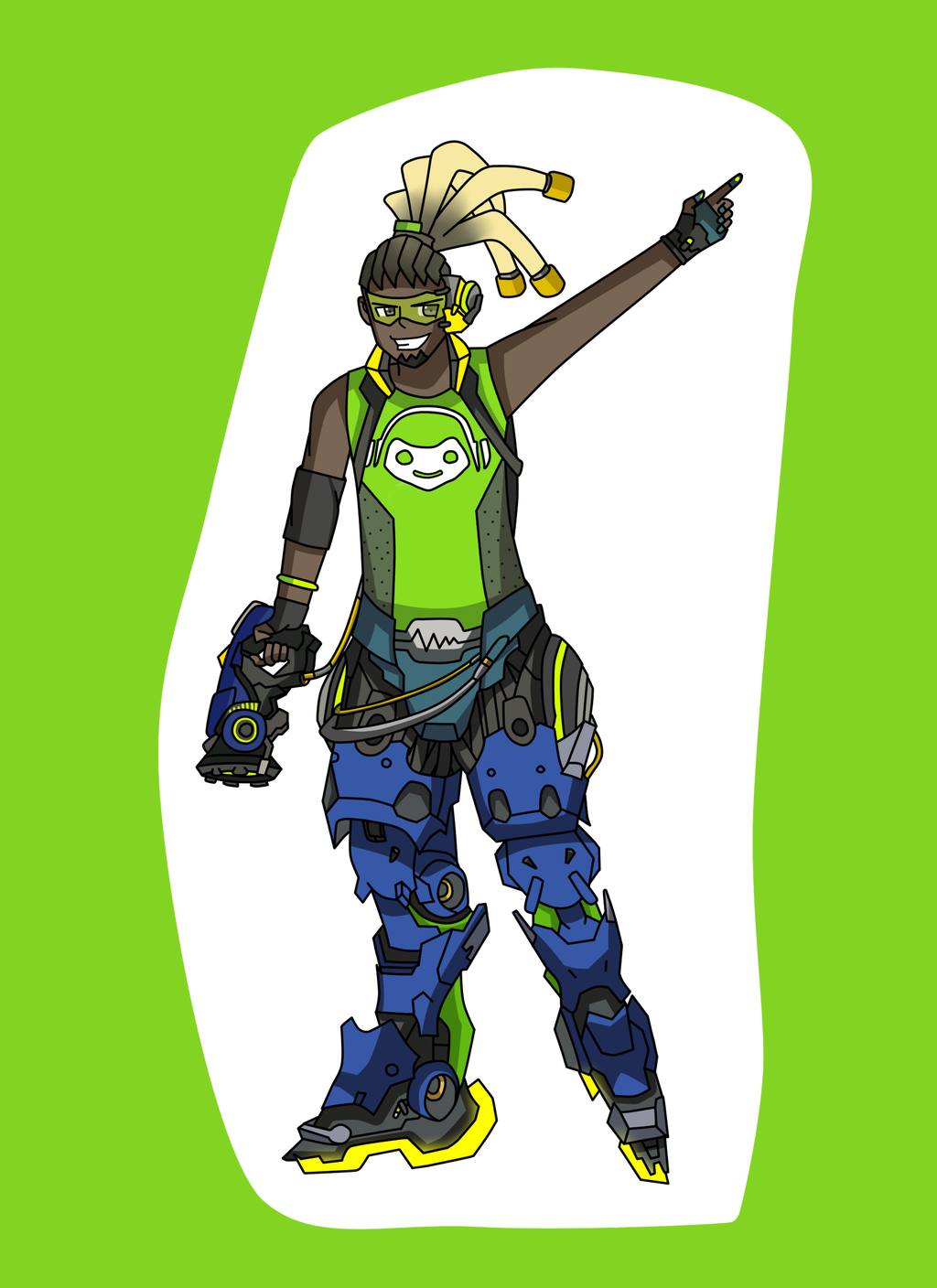 Overwatch lucio clipart image download Overwatch : Lucio by MarioK9 on DeviantArt image download