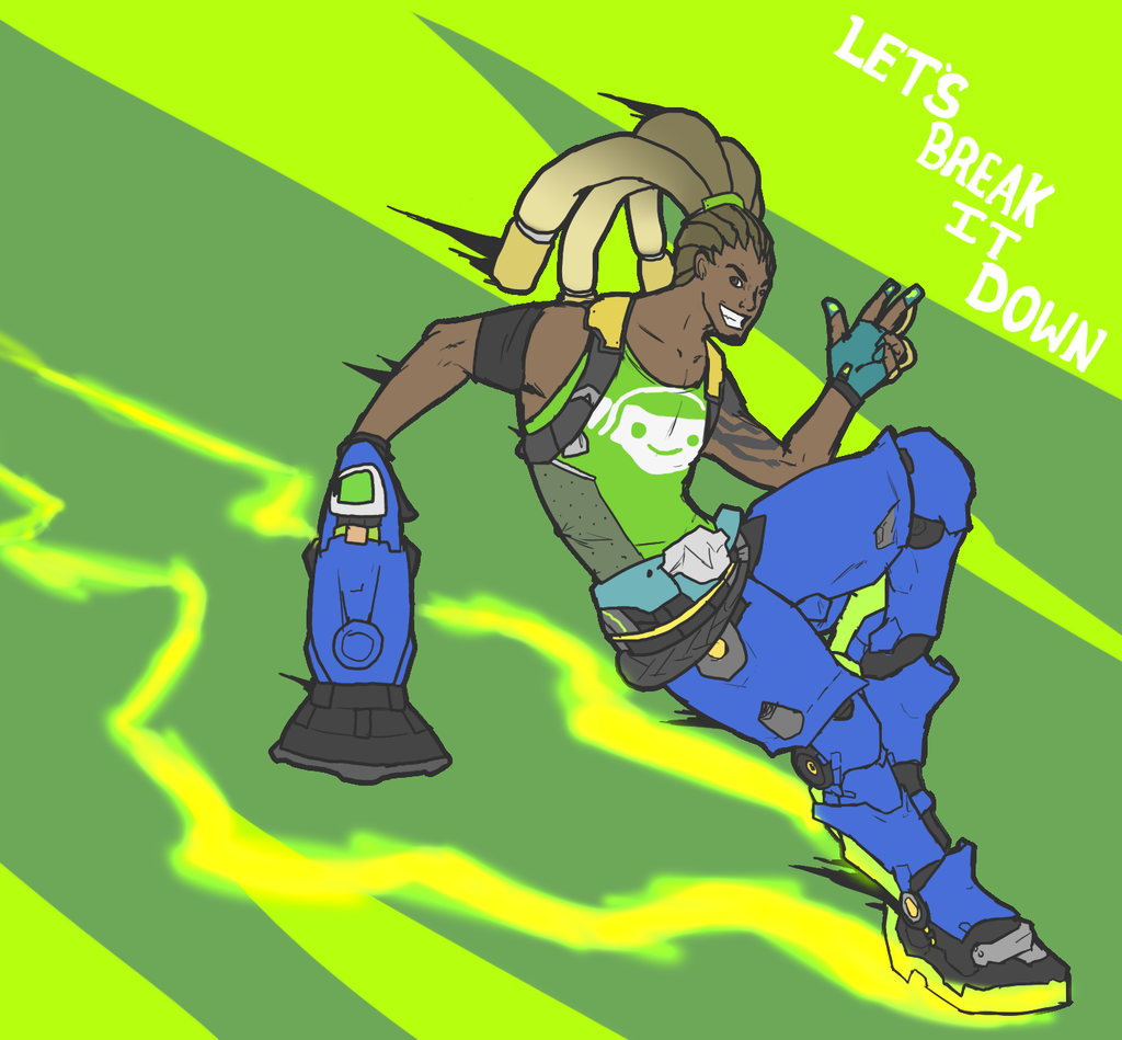 Overwatch lucio clipart clip art DeviantArt: More Like Overwatch Lucio Drawing by Kaiology clip art