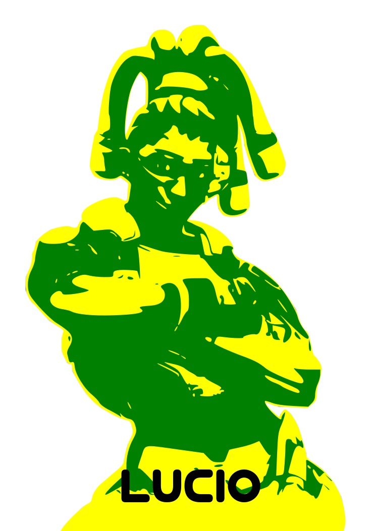 Overwatch lucio clipart graphic free library Overwatch lucio minimal by Mjc-Silver on DeviantArt graphic free library