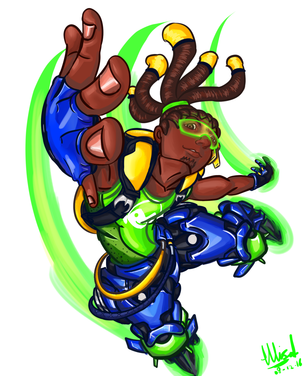 Overwatch lucio clipart svg library Lucio Overwatch Fanart by yogazetto on DeviantArt svg library