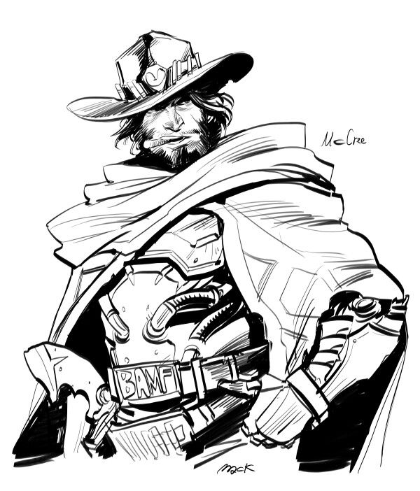 Overwatch mccree clipart clip free download 17 Best images about Overwatch: Mccree on Pinterest | Hit the ... clip free download