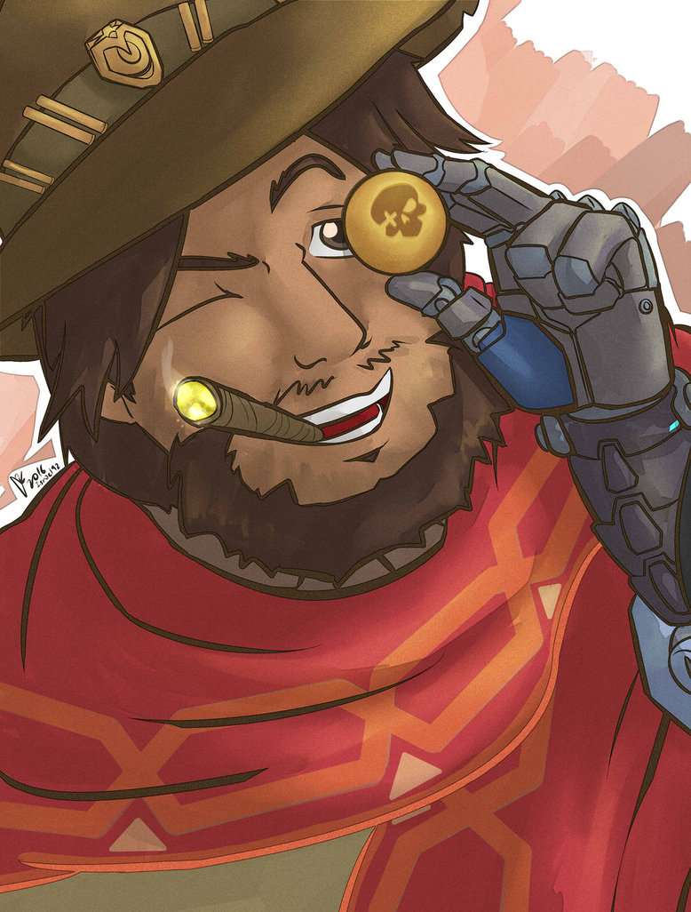 Overwatch mccree clipart free download Overwatch : McCree by Israel42 on DeviantArt free download