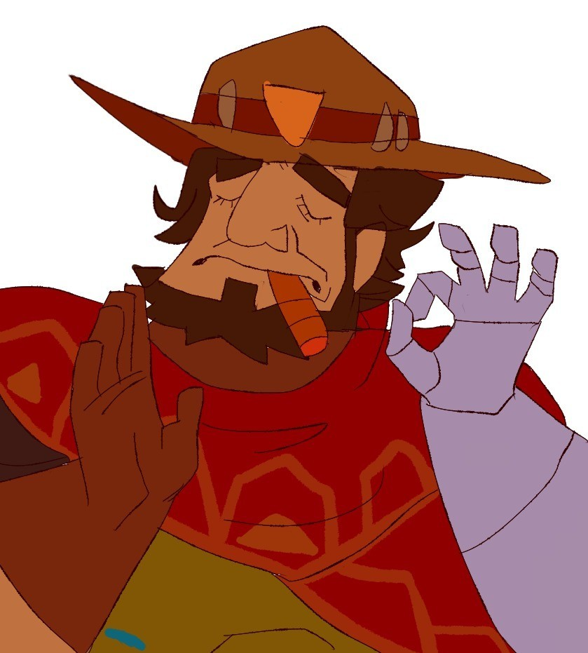 Overwatch mccree clipart free library McCree's Secret free library