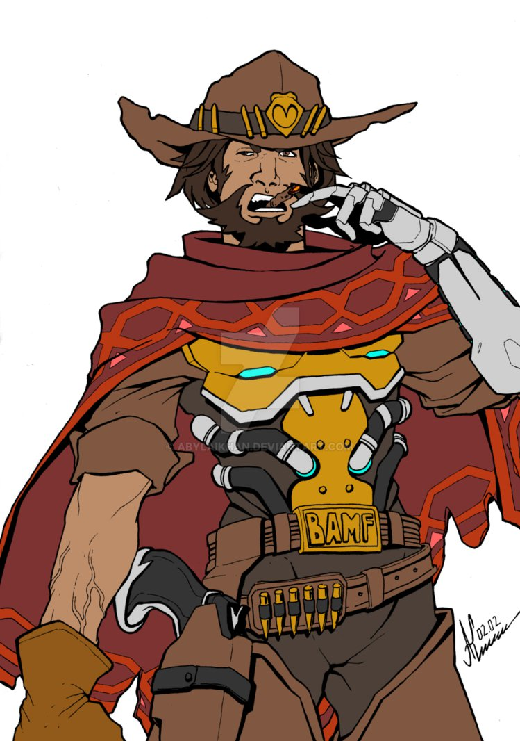 Overwatch mccree clipart graphic royalty free stock McCree - Overwatch by Abylaikhan | Overwatch | Pinterest | Art graphic royalty free stock