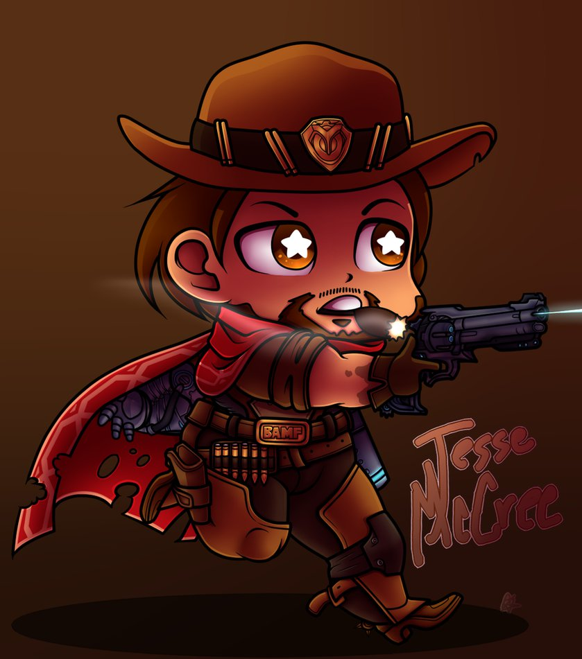 Overwatch mccree clipart graphic black and white library Jesse McCree Overwatch by SonicandMe901 on DeviantArt graphic black and white library