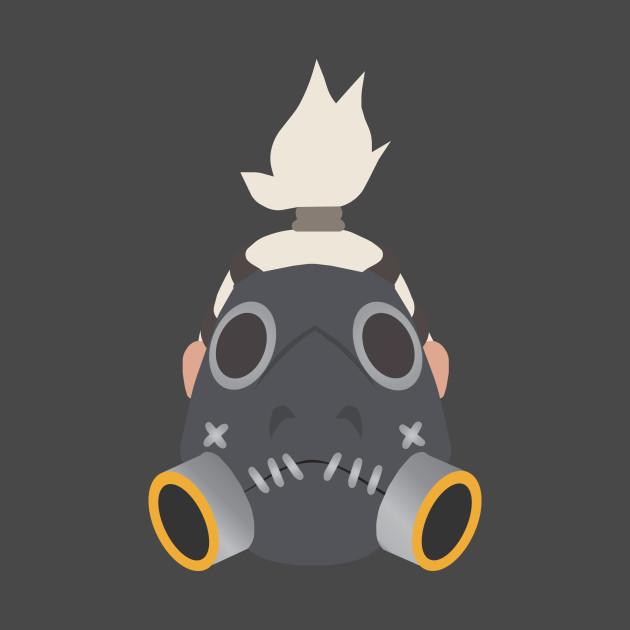 Overwatch minimalist clipart clip art transparent download Minimalist Roadhog - Overwatch - T-Shirt | TeePublic clip art transparent download