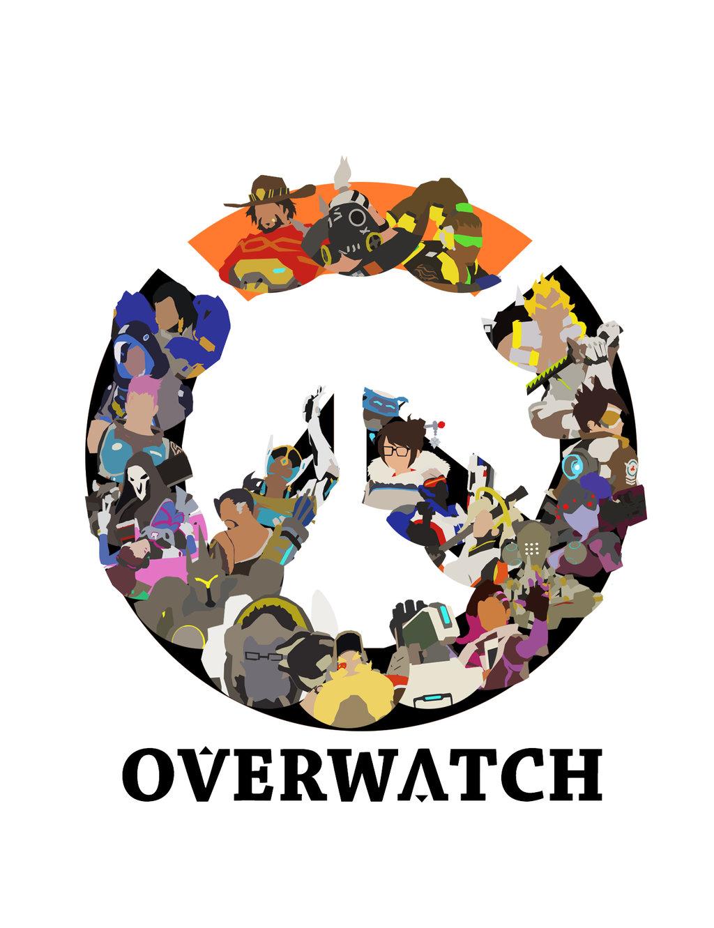 Overwatch minimalist clipart clip stock Overwatch Minimalist Logo by DoodledorkArt on DeviantArt clip stock