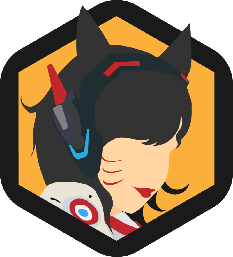 Overwatch minimalist clipart picture transparent stock Overwatch Ahri Icon | Minimalistic by ZelaKantal on DeviantArt picture transparent stock