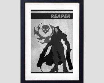 Overwatch minimalist clipart clip art freeuse stock Overwatch present | Etsy clip art freeuse stock