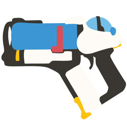 Overwatch minimalist clipart picture royalty free stock Overwatch Mei's Gun (minimalist vector) by SalsaXP on DeviantArt picture royalty free stock