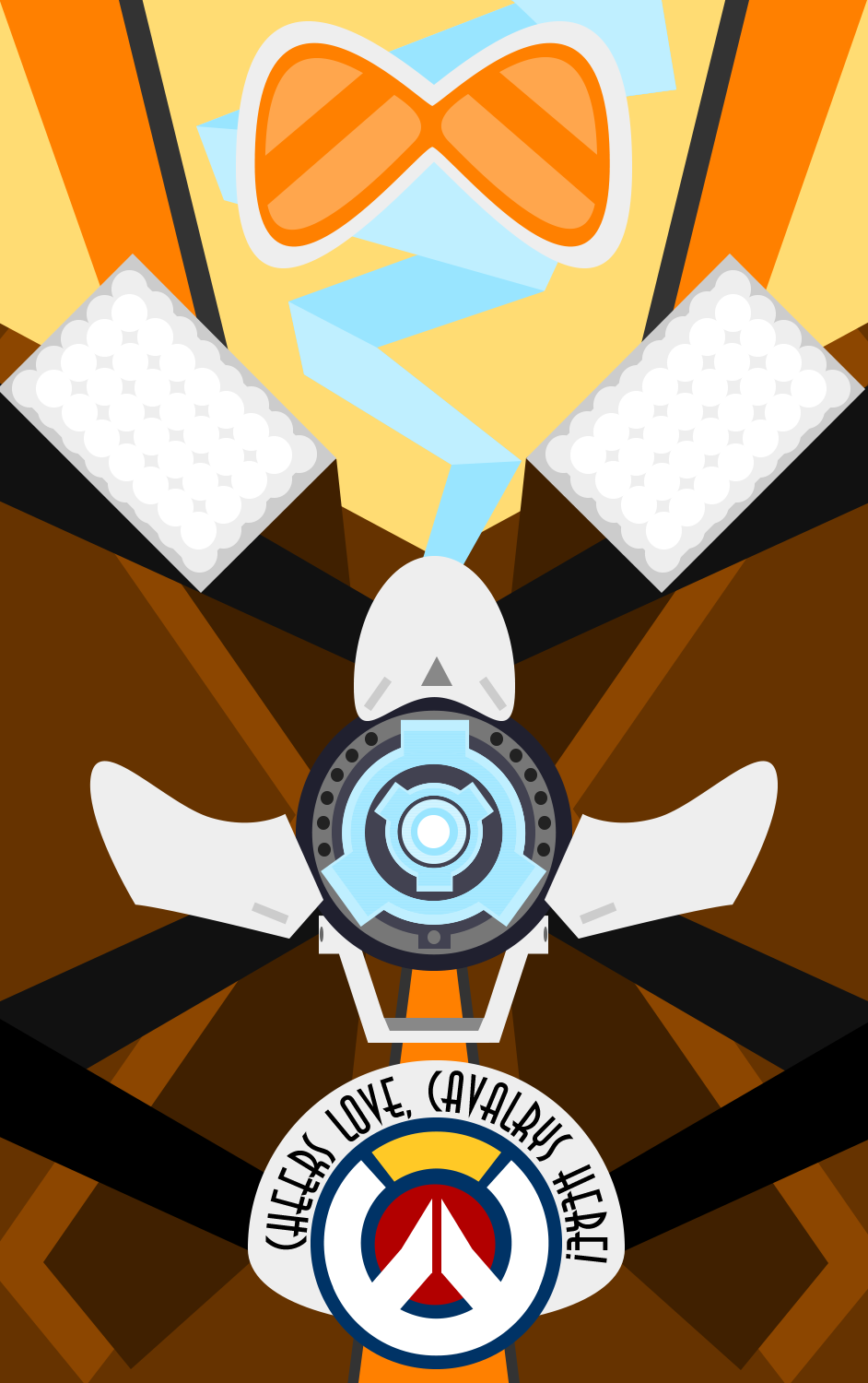 Overwatch mobile clipart transparent library Overwatch - Tracer by Limey-Boy on DeviantArt transparent library