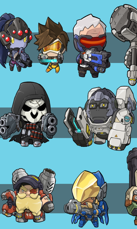 Overwatch mobile clipart vector freeuse Lumia 521 | 520 - Video Game/Overwatch - Wallpaper ID: 636791 vector freeuse